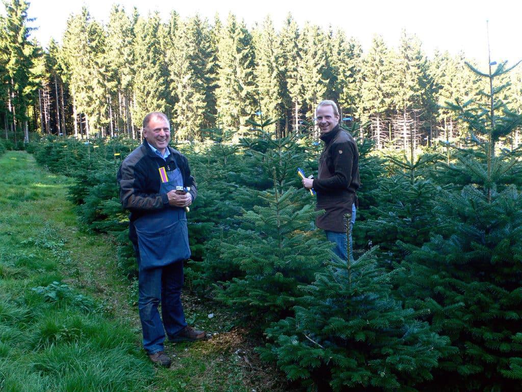 Kontakt Andreas und Werner Osebold - Weihnachtsbäume kaufen aus dem Sauerland